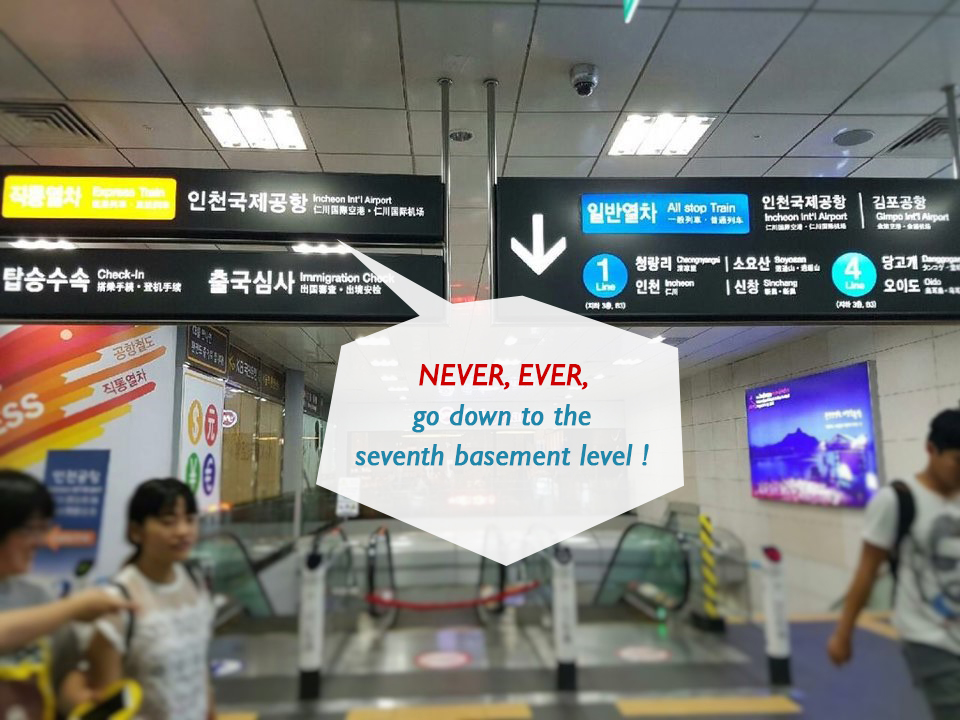 NEVER, EVER, go down to the seventh basement level!